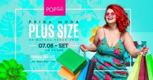 Dias 7 e 8 de setembro tem feira de moda plus size Primavera-Verão no Club Homs na Avenida Paulista